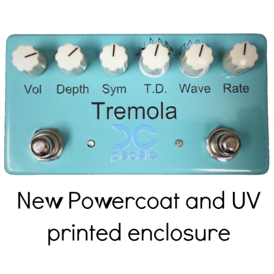 DC Pedals Tremola new graphics